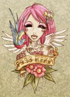.miss kika tattoo. by guava
