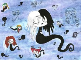 Eleanor the little ghost girl and the lost souls by ScorpionsKissx