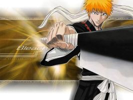 Bleach - Ichigo by dededreamer