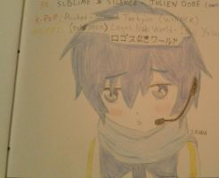 KAITO in my book by IRONA-art