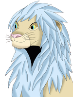 Warrior of Light as Lion by Icedragon300