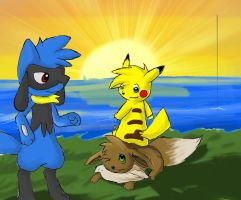 Hope By The Sea by Zander-The-Artist
