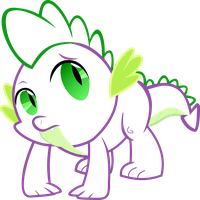 Vector: Spike outline by Fennrick