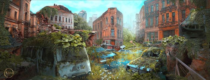 Post apocalypse by A-Stas