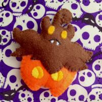 Pumpkaboo - Mini Pokemon Plush by AmyRosefan4eva