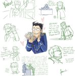 FMA: Maes Hughes sketches by WithSkechers