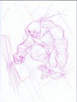 TMNT Sketch Michelangelo by KomicKarl