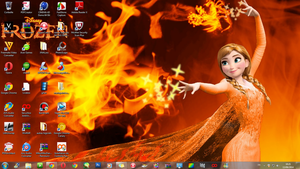 Wallpaper used on my Windows 7 desktop by JackFrostOverland