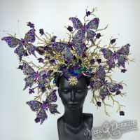 Butterfly Headdress- SOLD by MissGdesigns