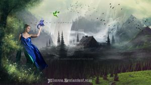 Blue And Green by Alimera