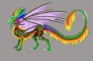 Another dragon by CyberSquirrelFish