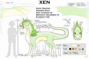 Xen Reference Sheet by BlackAngelFeathers