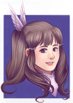 Sumia Portrait by SailingBreezes