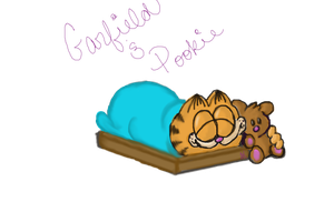 Garfield and Pookie by Amarantheans