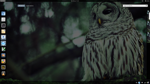 Gnome Shell WIP by V4arg