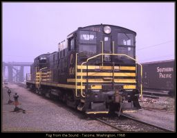 Fog from the Sound by classictrains