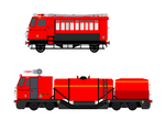 Fire Trains ( New OCs ) by NetGreen123