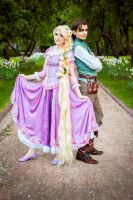 Rapunzel and Flynn 2 by Usagi-Tsukino-krv