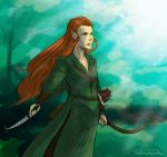The Hobbit- Tauriel by AbyssRiot