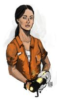 Chell by KaijahM
