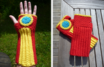 Iron Man handwarmers by Kottdjur