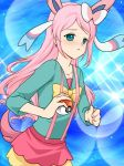 Fluttershy as sylveon by Flutter-angel2002