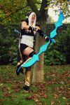 Ashe league of legends cosplay by Ninaaamazing