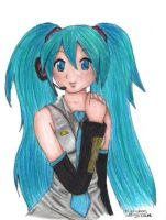 Hatsune Miku by Marcel-Art