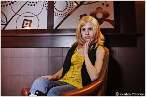 Vocaloid: Rin Casual by CosplayerWithCamera