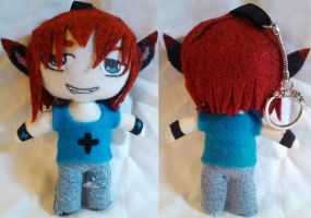 Contest Prize: OC Ice Mini Plush ver.2 by mihijime