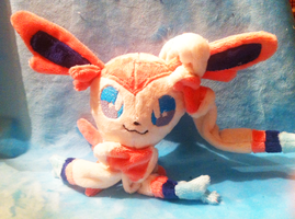 Sylveon Plush :FOR SALE: by LordBoop