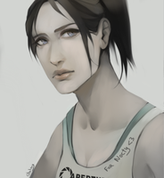Chell by Galaxianin
