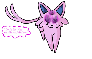 .:Commission:. Espeon196TF +FIXED+ by JewelyCat