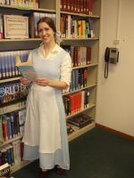 Belle in the Library by LittleMarin
