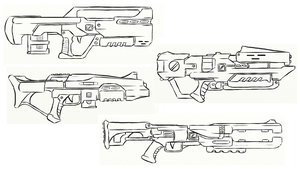 Gun Concepts IV by JxAir