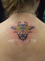 Dragonfly Tattoo by mxw8