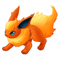 Pokemon 136 - Flareon by illustrationoverdose