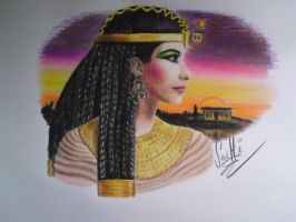 Cleopatra - the queen of Egypt by SusHi182