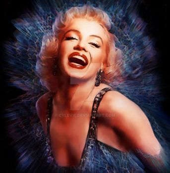 Marilyn Monroe by cylevie