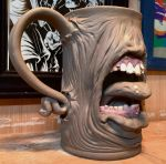 Diseased Zombie Beer Mug- WIP by thebigduluth