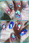 Icecream Manicure by MikariStar