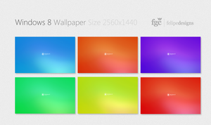 Windows 8 Wallpaper Pack by Felipi