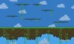 pixel art level (Not anything) by DarkFlame75