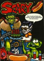 Only Colored Scary cover by JollyGorilla