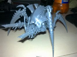 Unpainted Spiderfex by 666Souless
