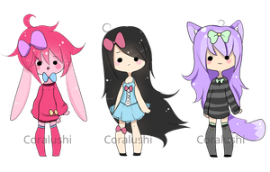 Adoptable Batch 1# [CLOSED] by LushiAdopts