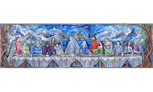The Last Supper of Valinor by JankaLateckova
