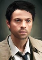 Castiel by ChristinZakh