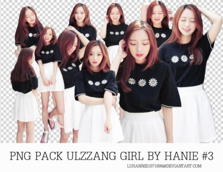 PNG PACK ULZZANG GIRL BY HANIE #3 by LuHannie1071999