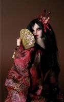Red Dragon Geisha 2 by wingdthing